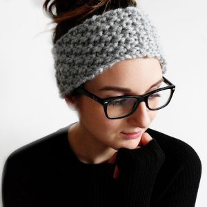 SIMPLE TEXTURED HEADBAND KNITTING PATTERN