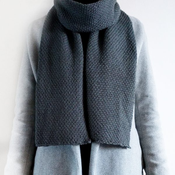 Woven Scarf Wrapped Square