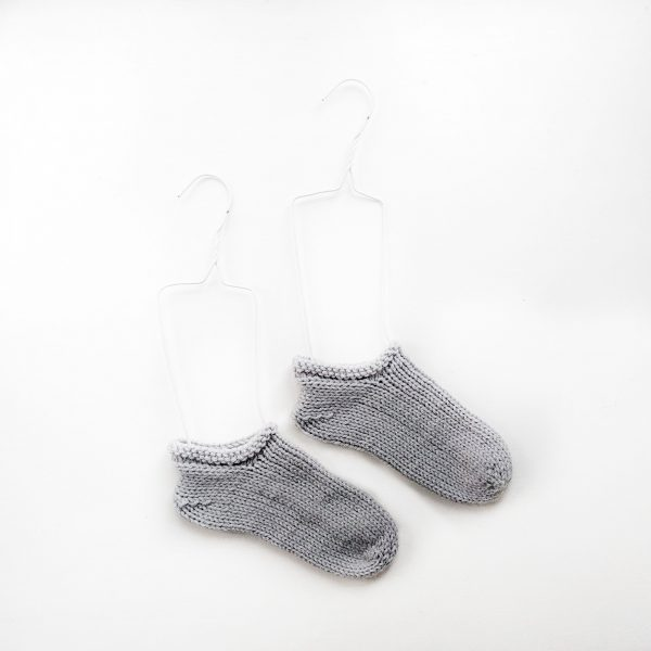 CHUNKY SLIPPER SOCKS KNITTING PATTERN
