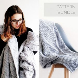 DREAM BLANKET KNITTING PATTERN BUNDLE